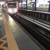 Photo taken at RapidKL Sentul Timur (ST11) LRT Station by Aisyah J. on 10/28/2016