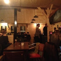 Photo taken at London Fields Brewery by Ben F. on 3/2/2013