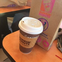 Photo taken at Dunkin' Donuts by Rose on 7/13/2016