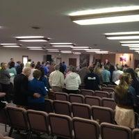 Photo taken at Columbus Baptist Church by Greg S. on 3/31/2013