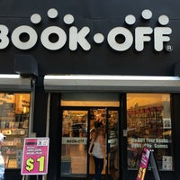 Photo taken at Book Off by Steve K. on 6/7/2014