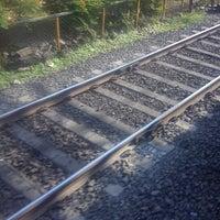 Photo taken at Matunga Railway Station by Rohit S. on 12/9/2012