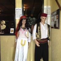 Photo taken at Cafe Pita+ by Sookie S. on 9/18/2012