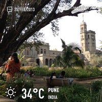 Photo taken at Savitribai Phule Pune University by Michele S. on 2/25/2013