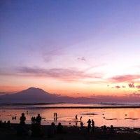 Photo taken at Pantai Segara Ayu by jakki ⚡ y. on 5/5/2014