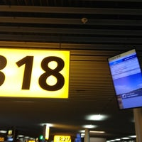 Photo taken at Gate B18 by Jaroslav M. on 11/13/2012