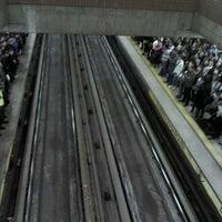 Photo taken at Metro Baquedano by Fernando G. on 6/13/2013