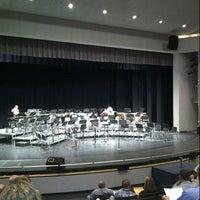 Photo taken at Desert Mountain High School by Natalie S. on 4/23/2014