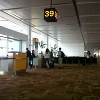 Photo taken at Jet Airways Checkin by Shadab H. on 3/11/2013