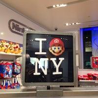 Photo taken at Nintendo NY by Andrea O. on 4/6/2013