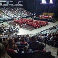 Photo taken at CenturyLink Center by Nick P. on 5/18/2013