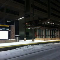 Photo taken at East Bank LRT Station by Jonathan A. on 12/29/2012