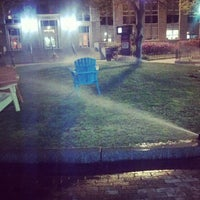 Photo taken at Krentzman Quadrangle by Chad O. on 5/1/2013