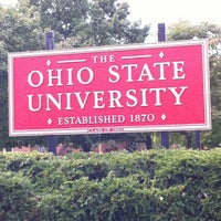 Photo taken at The Ohio State University by Courtney R. on 9/20/2012