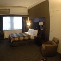 Photo taken at Club Quarters Hotel, Wall Street by Nancy W. on 6/26/2013