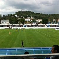 Photo taken at Estadio 10 de Diciembre by Miguel H. on 7/24/2013