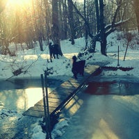 Photo taken at Mill Woods Dog Park by Andy H. on 4/12/2013