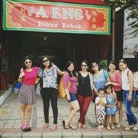 Photo taken at Bihun Bebek Aeng by Felicia S. on 10/26/2013