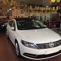 Photo taken at Volkswagen Frankfurt by Carlos P. on 11/11/2013