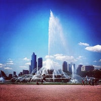 Photo taken at Clarence Buckingham Memorial Fountain by Get S. on 7/28/2013