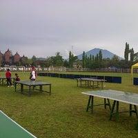Photo taken at Lapangan Kapten Mudita Bangli by Tioki R. on 12/20/2012