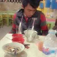 Photo taken at Bakmi petak 9 gading mas by Anggi D. on 10/24/2012