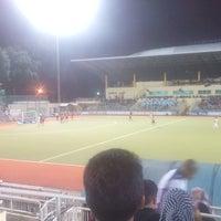 Photo taken at Stadium Hoki Nasional by Zaim A. on 5/29/2016