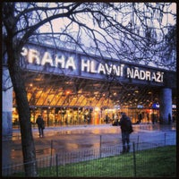 Photo taken at Prague Main Railway Station by Kateřina V. on 1/3/2013