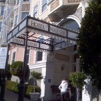 Photo taken at Hotel Majestic by Lori K. on 12/8/2011