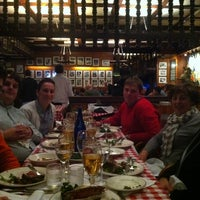 Photo taken at Gallaghers Steakhouse by Delphine V. on 11/2/2012