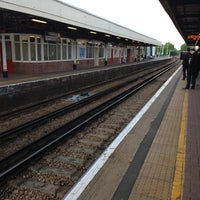 Photo taken at Kingston Railway Station (KNG) by Jasmine S. on 5/9/2013