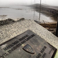 Photo taken at Cribstone Bridge by Jen R. on 7/2/2013