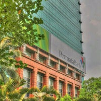 Photo taken at Permata Bank Tower Sudirman by Erfira S. on 12/31/2012