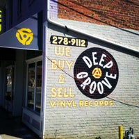 Photo taken at Deep Groove Records by Tyler W. on 4/10/2013
