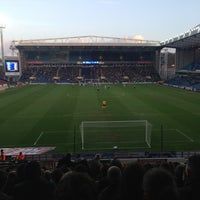 Photo taken at Ewood Park by Ady C. on 4/16/2013