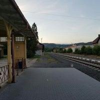 Photo taken at Železniční stanice Semily by Jenda Š. on 7/9/2016