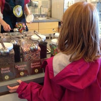 Photo taken at Marble Slab Creamery by Gigi on 11/17/2013