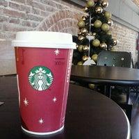 Photo taken at Starbucks by Monica H. on 12/2/2012