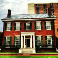 Photo taken at The Boyhood Home Of Woodrow Wilson by B G. on 7/1/2013