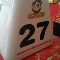Photo taken at Bomburguer by Ronando F. on 2/11/2014