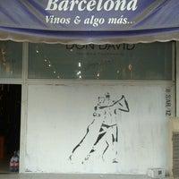 Photo taken at Barcelona vinos by Fer G. on 10/10/2012