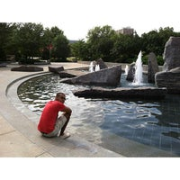 Photo taken at Broyhill Fountain by Keith G. on 8/6/2013