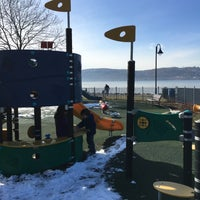 Photo taken at Dobbs Ferry Waterfront Park by randy k. on 2/7/2016