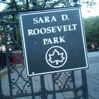 Photo taken at Sara Delano Roosevelt Park Playground by Mari_fromrussia on 7/5/2013