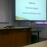Photo taken at Institut Penyiaran dan Penerangan Tun Abdul Razak (IPPTAR) by Zulfadhli K. on 10/28/2013