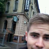 Photo taken at Széna tér by VLC Q. on 10/8/2015