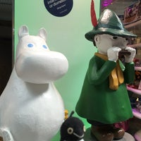 Photo taken at Moomin Shop by miri k. on 6/13/2016