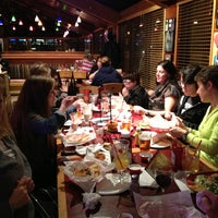 Photo taken at Red Robin Gourmet Burgers by Maureen G. on 2/26/2013