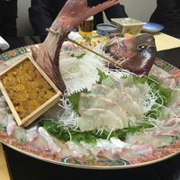 Photo taken at 和食料理 花邨 by くま ね. on 3/26/2015