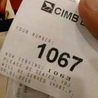 Photo taken at CIMB Bank by Akram A. on 1/6/2016